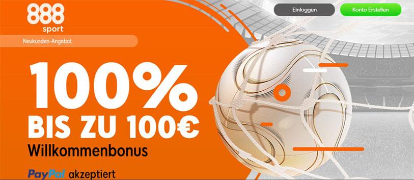 888Sports bonusangebot