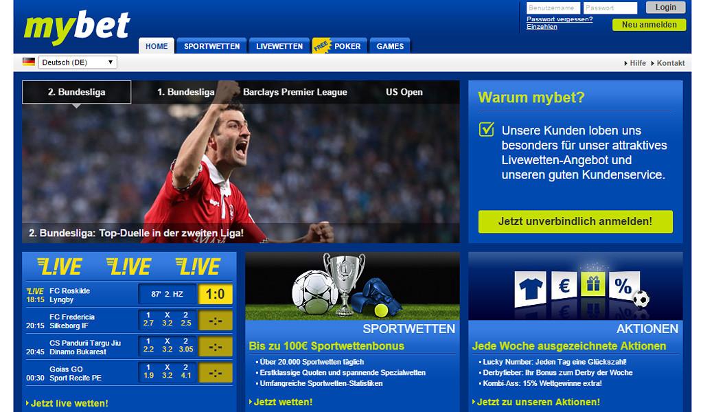 mybet-homepage