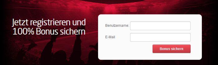 Registrierung bei Tipico zum Bonus einlösen (Quelle: Tipico)