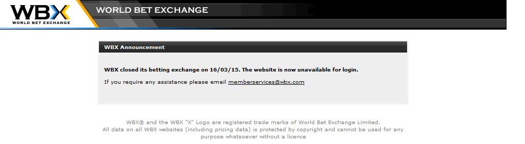 WBX Webseite