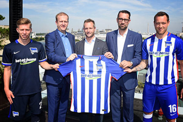 Hertha BSC wird vom Wettanbieter bet-at-home gesponsort (Quelle: bet-at-home)