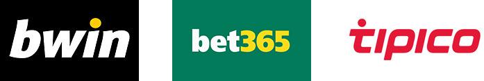 Logo bwin bet365 Tipico