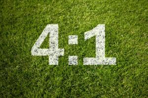 fussball-ergebnis-4zu1