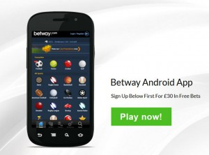 Betway Mobile (Quelle: Betway)