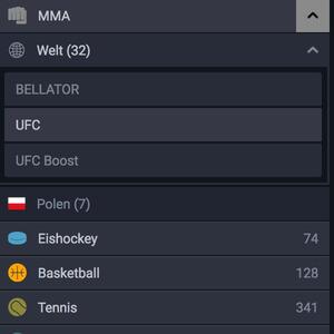 Ohmbet Wetten MMA