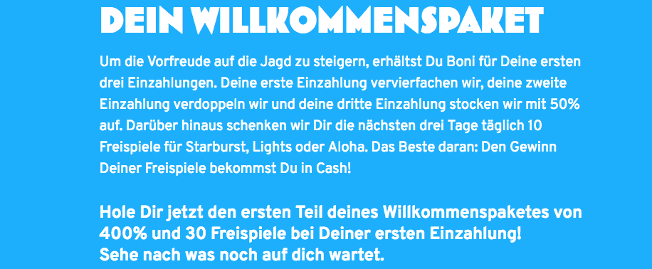 Wunderino Sport Bonus