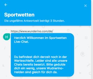 Wunderino Sport Support