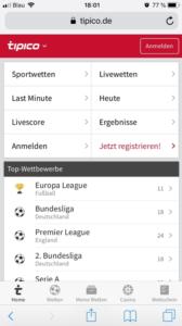 Tipico App Mobile
