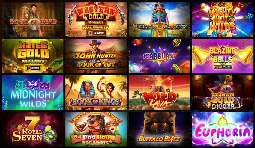 Casinoangebot von Betano