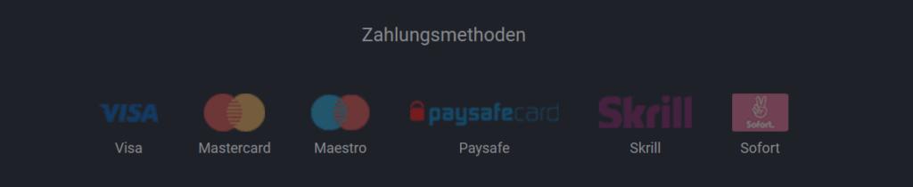 Betano Zahlungsmethoden