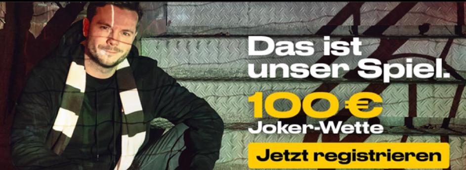 Joker-Wette von bwin