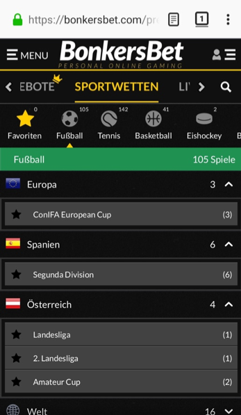 sportwetten bonkersbet app mobile