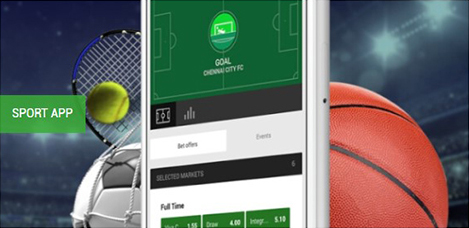 Unibet Sport App (Quelle: Unibet)