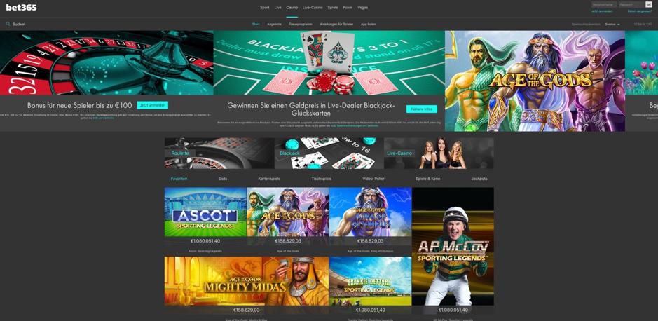 weitere angebote casino poker bet365