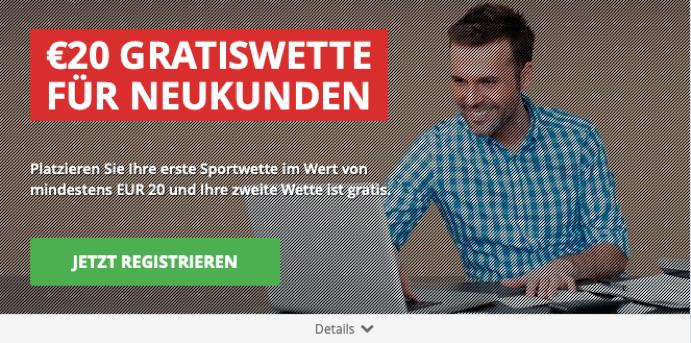 gratiswette bonus intertops
