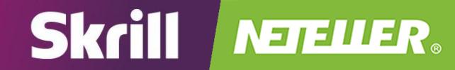 Logos von Skrill und NETELLER