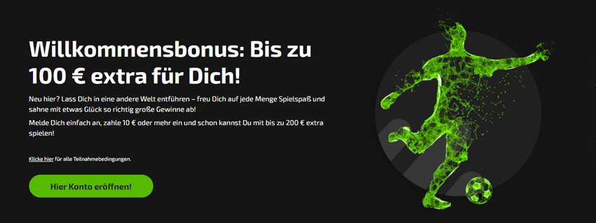 Bonus von Mobilebet