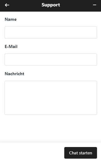 Live Chat von Mobilebet