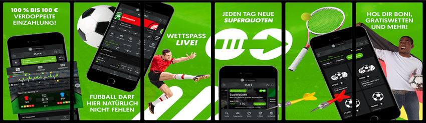 Mobile App von Mobilebet