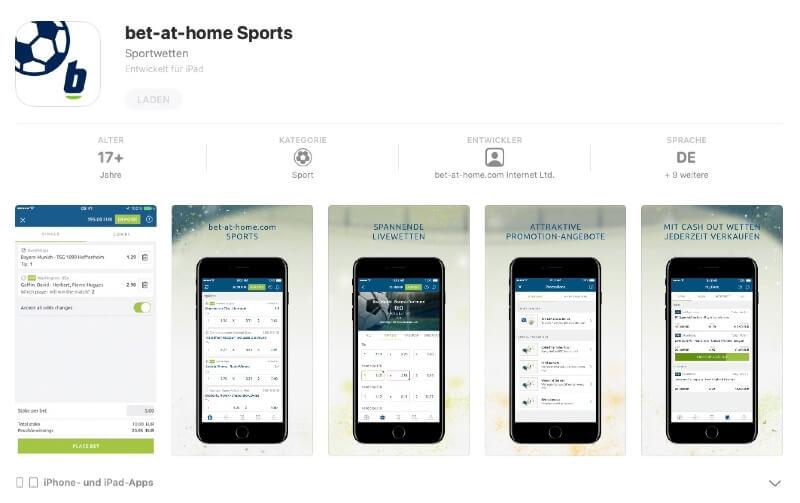 bet-at-home App im App Store